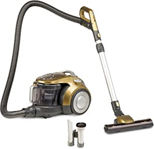 Koblenz KCCP-1800 Equinox Bagless Canister Vacuum, One Size, Gold