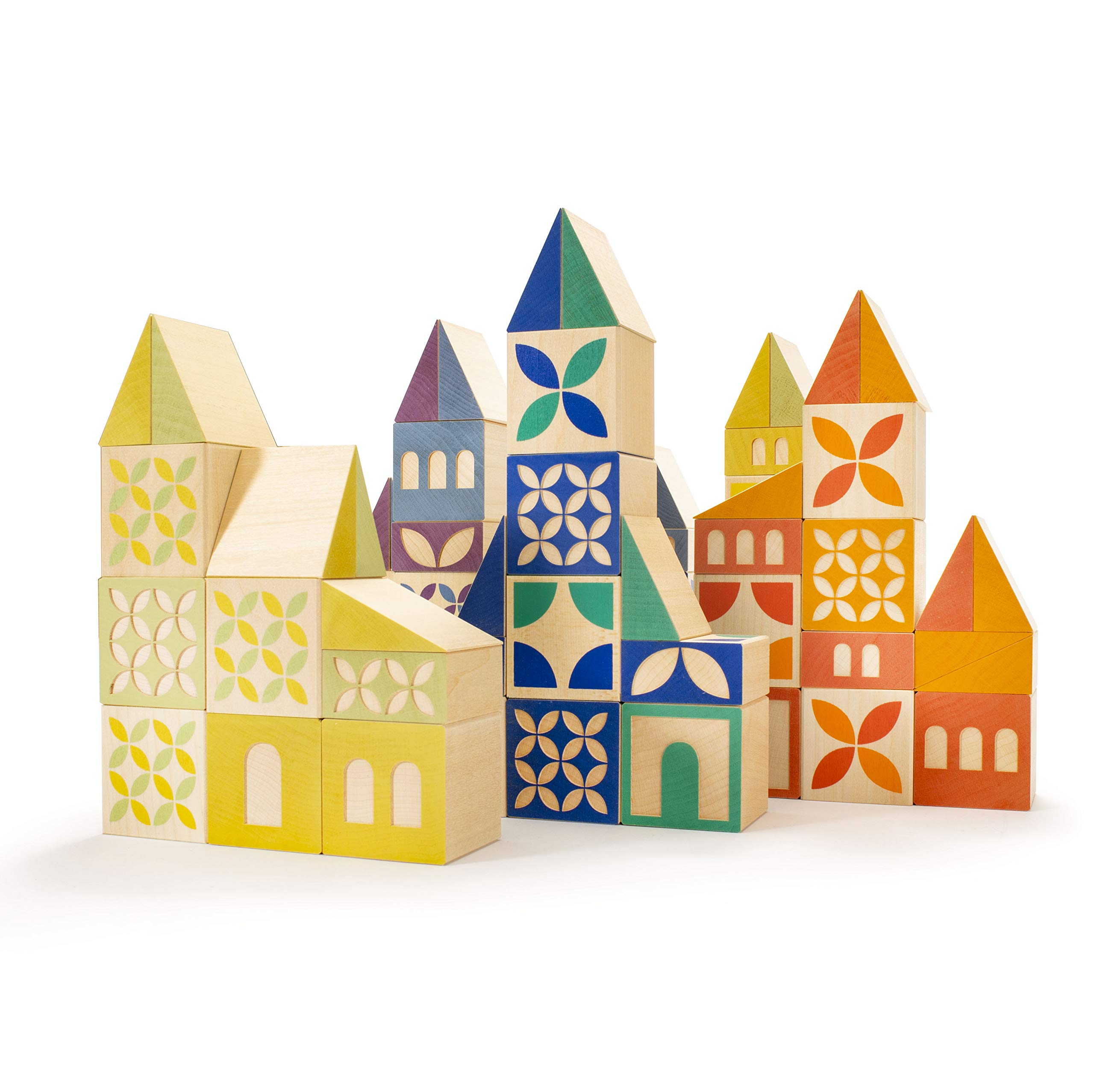 Uncle Goose Gosling Square Building Blocks - Made in The USA
