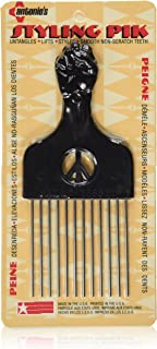 product image for Legends Creek Antonios Made In America Metal Hair Styling Pik for Volume & Tangles