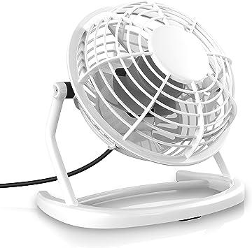 CSL - Ventilador USB - Ventilador de Mesa - Ventilador: Amazon.es ...