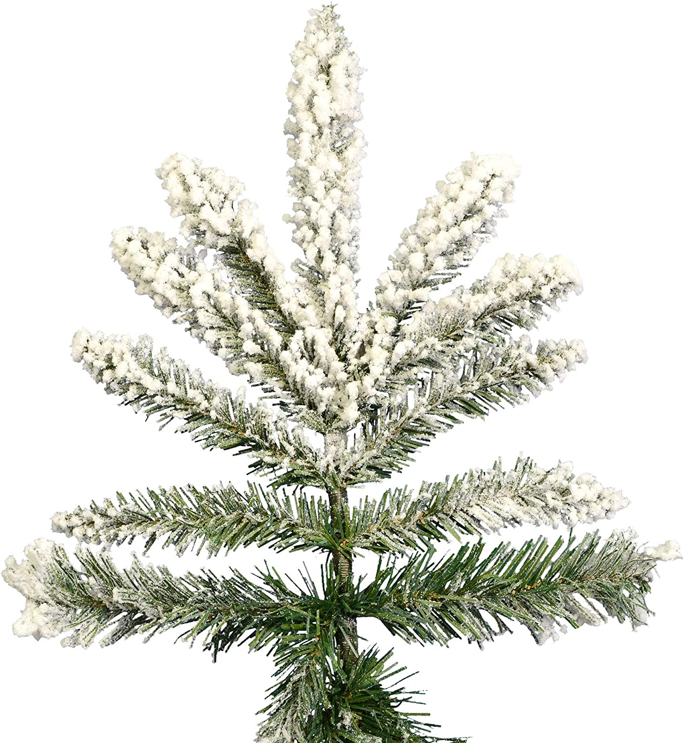 """Details about  /Vickerman 5/"""" Silver Flocked Pinecone Ornament 4//Bg"""