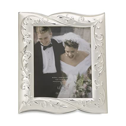 Amazon.com - Lenox Opal Innocence Frame for 8 by 10-Inch Photo ...