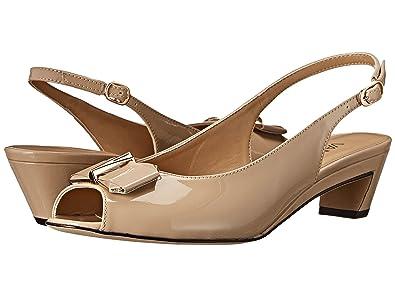 Womens Shoes Vaneli Binge Ecru Mag Patent