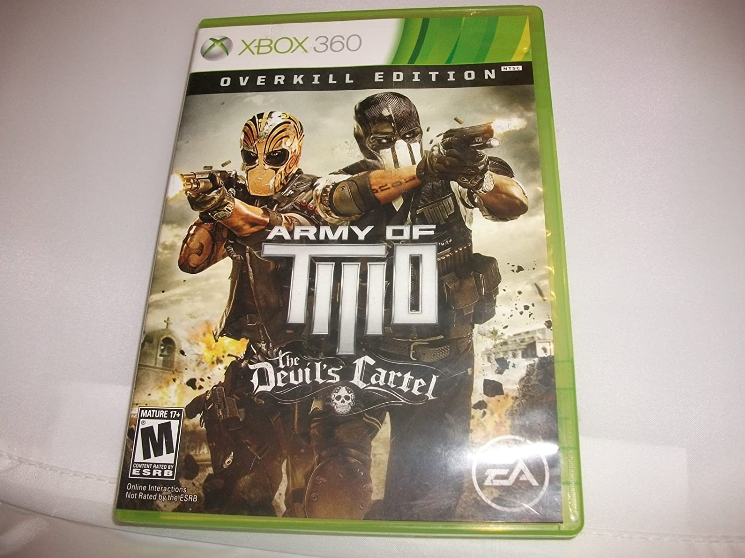 Amazon.com: Army of TWO The Devils Cartel - Xbox 360 ...