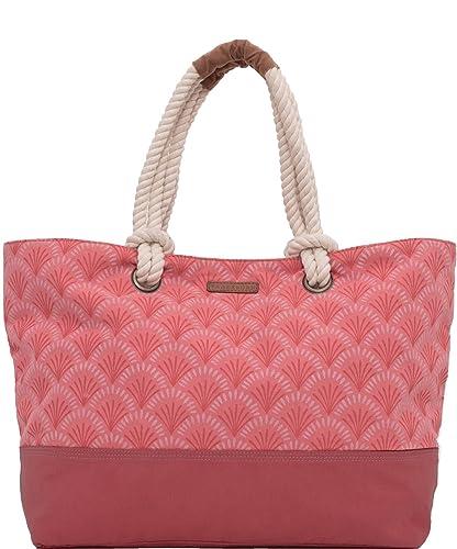 Brakeburn - Bolsa de playa Bolsas de mano Rosa rosa: Amazon ...