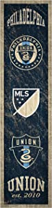 Fan Creations MLS Philadelphia Union Unisex Philadelphia Union Heritage Banner 6x24 Sign, Team, 6 x 24