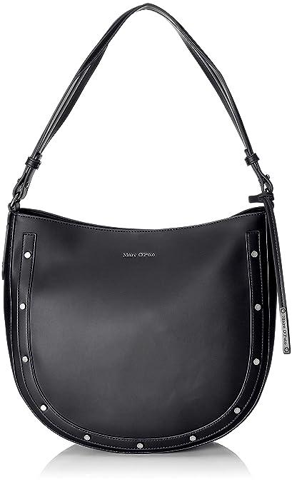 Marc O'Polo Madelyn, Women's Shoulder Bag, Black: Amazon.co