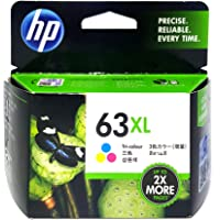 HP 63XL Original Tri-Color Ink Cartridge (F6U63AA)