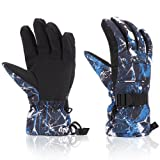 Amazon Price History for:Ski Gloves, Yidomto Waterproof Warmest Winter Snow Gloves for Mens, Womens, Boys, Girls, Kids