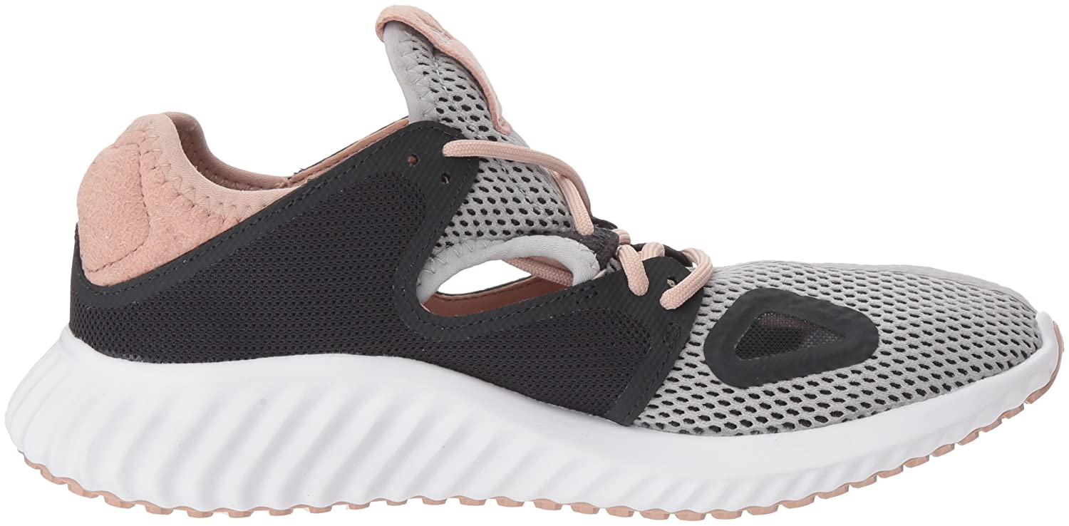 adidas Women's Lux Clima w Running Shoe B075R8KBHR 11 B(M) US|Grey Two Fabric, Carbon S, Ash Pearl S
