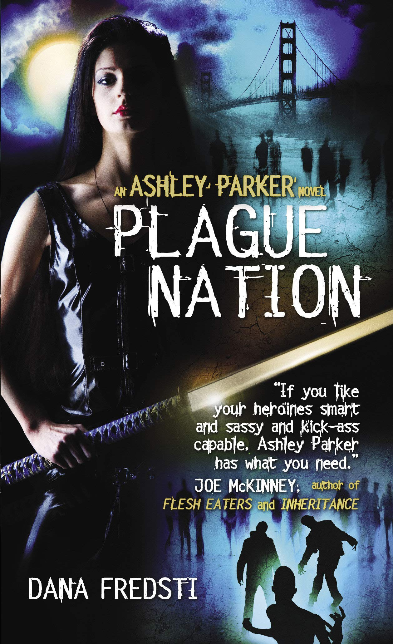 Plague World Ashley Parker 3 By Dana Fredsti