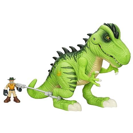 Amazon Com Playskool Heroes Jurassic World T Rex Figure