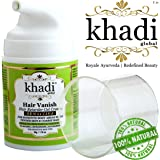 Khadi Global Hair Vanish Sensitive Hair Retarder Gel Cream, 50g