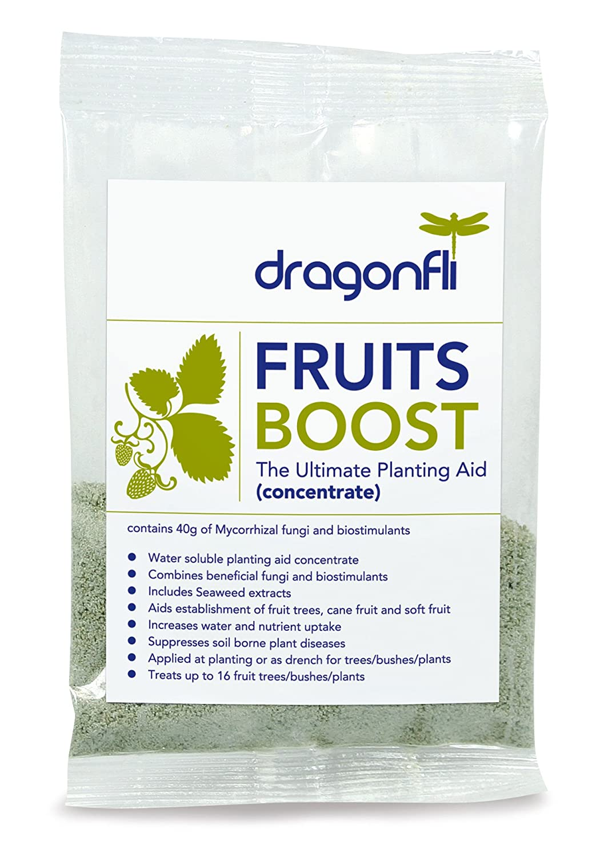 Dragonfli Fruits Boost Mycorrhizal 5 x 40g Sachets Dragonfli ltd PS-04