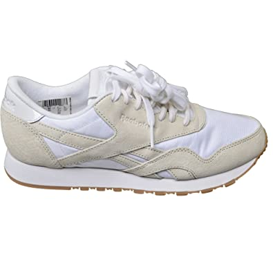 competitive price 14c79 94247 Reebok Baskets CL Nylon Affiliates Women s Sneaker Beige Size  11.5