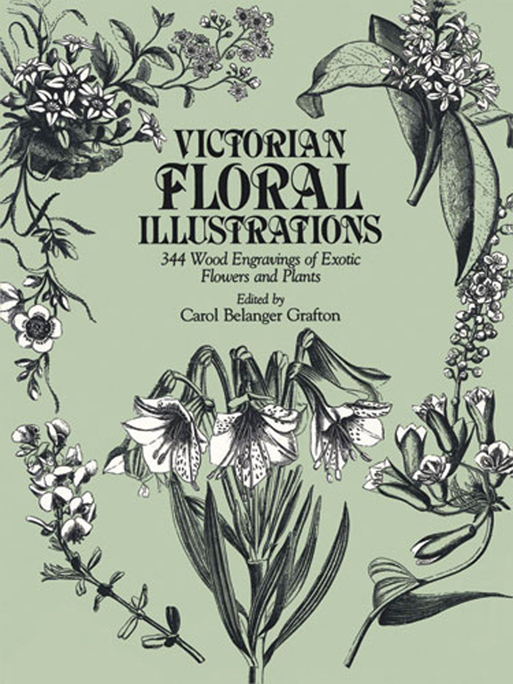 Victorian Floral Illustrations: 344 Wood Engravings of Exotic Flowers and Plants (Dover Pictorial Archives)