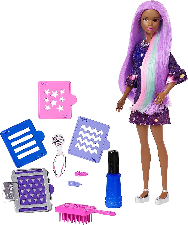 Amazon.es: Barbie Fashionista, Muñeca Peinados Multicolor, juguete ...