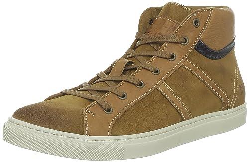 Por P Sud HombreMarron151 Cuoio42 M L D Travis Sneaker Para Palladium UVzpSM