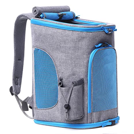 Pet Carrier Backpack For Small Dogs and Cats up To 15LBs, Upgrade Airline  Approved Soft 793b8a3baa