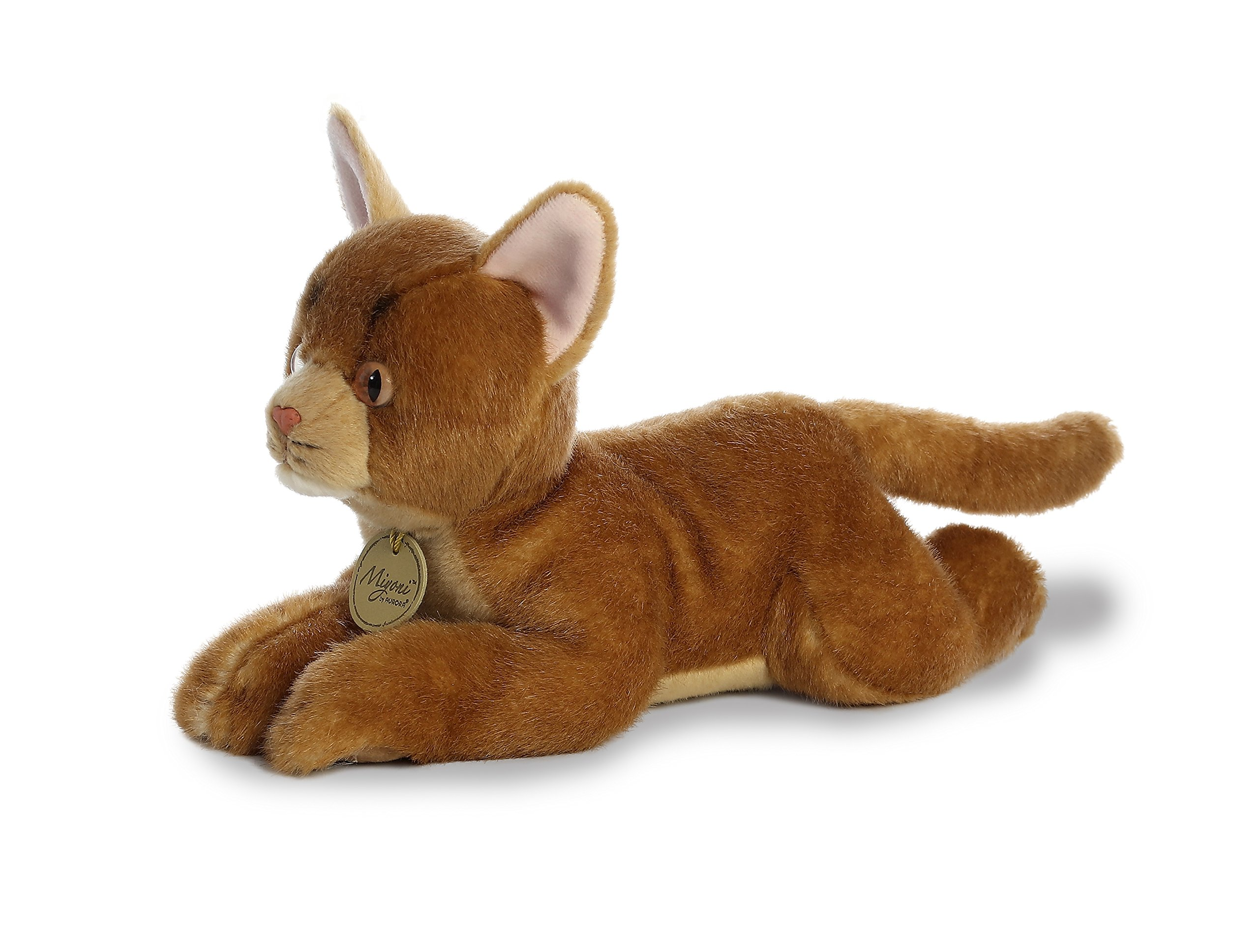 Stuffed Animal Abyssinian Cat