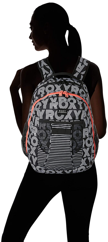 Roxy Womens JUST BE Happy ryggsäck Anthracit calif dreams