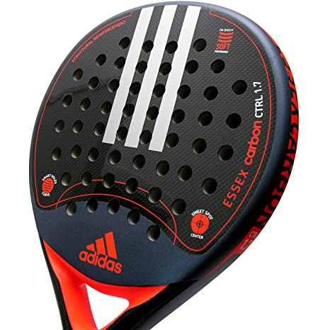 Pala de pádel Adidas Essex Carbon Control 1.7 Orange