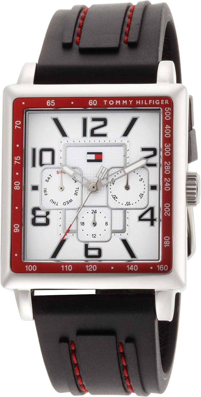 Tommy Hilfiger Men s 1790703 Stainless Steel Rectangular Case Sport Watch