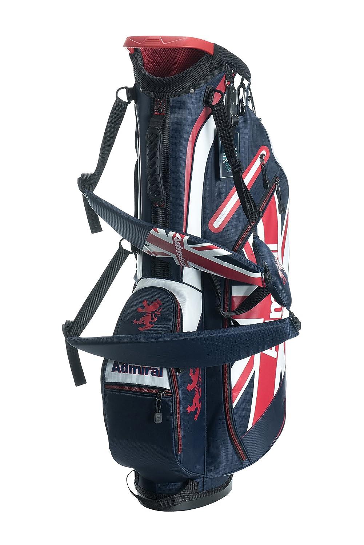 【即納!】アドミラルゴルフ 9型キャディバッグ ライトウエイト スタンド式 ADMG8SCA 【あす楽対応】   B079223M49