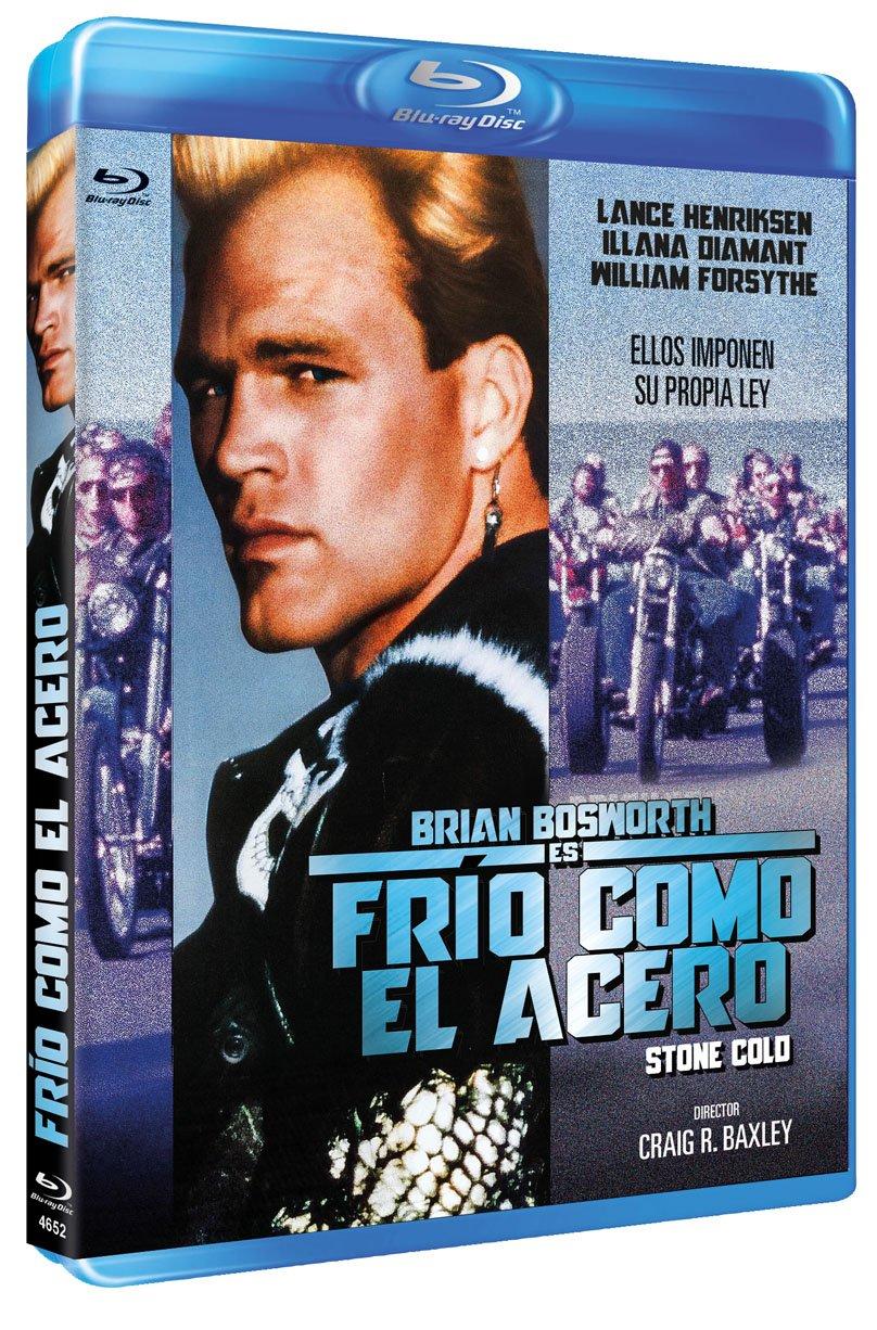 Frío Como el Acero BD 1991 Stone Cold [Blu-ray]