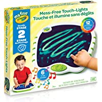 Crayola My First Touch Lights,for Toddlers, Mess-Free Portable Drawing Board, Art Supplies, for Girls and Boys, Gift for Boys and Girls, Kids, Ages 3, 4, 5,6 and Up, Holiday Gifting, Stocking Stuffers, Arts and Crafts
