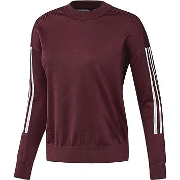 3866737185f65a adidas Women s Id Knit Sweatshirt  Amazon.co.uk  Sports   Outdoors