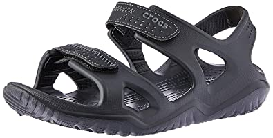 c46ba2d3e247 Crocs Men s Swiftwater River Sandal Sport Black