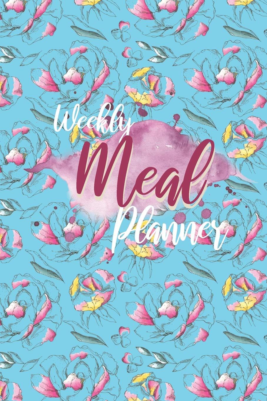Buy Weekly Meal Planner Food Journal Meal Plan Template