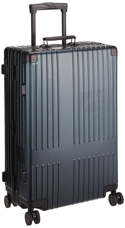[イノベーター] | アルミキャリー フレーム | | ブランドロゴレーザーあり | TSAダイヤルロック | 双輪キャスター | 多段階調整キャリーバー | 保証付 67L 64 cm 5.8kg B07BKSSB2C ディープネイビー