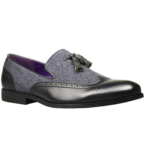 ClassyDude - Mocasines con borla hombre: Amazon.es: Zapatos y complementos
