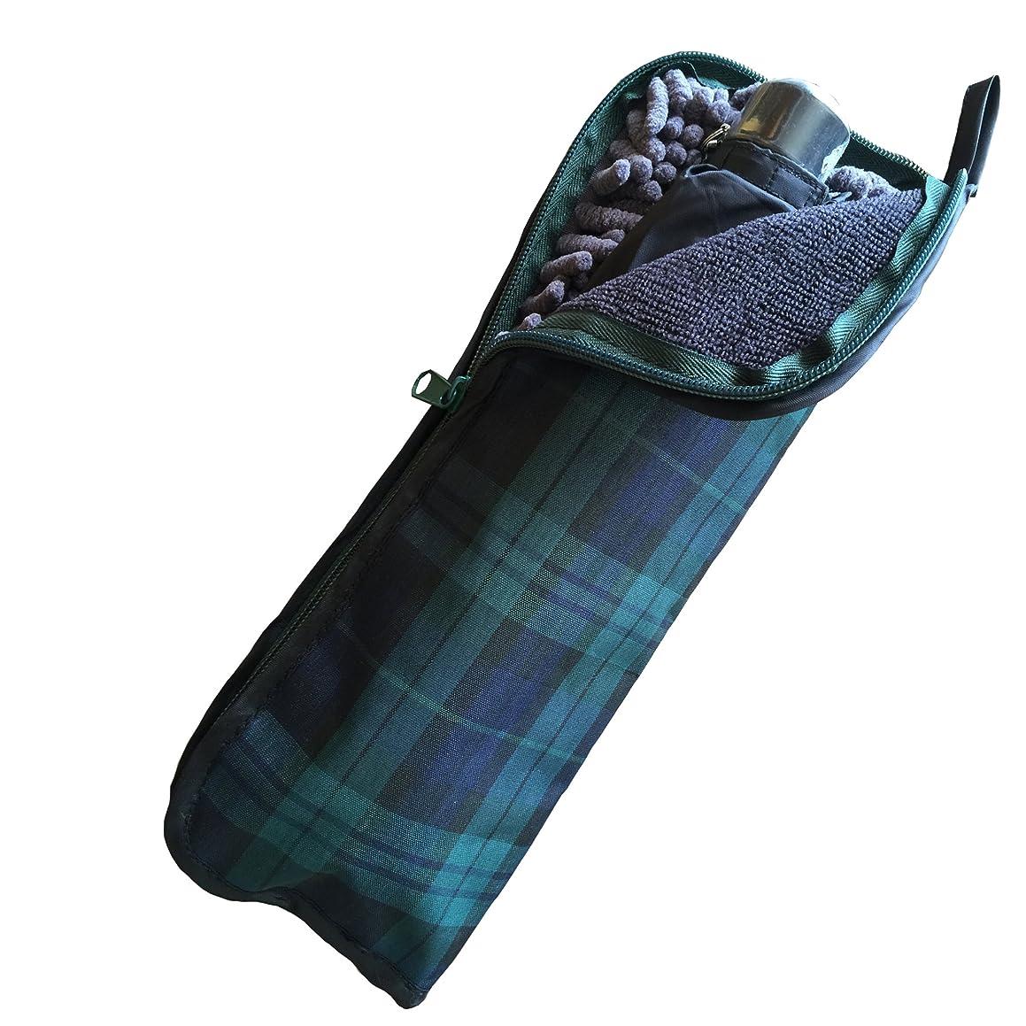 民間人何よりもトマトMOCOCO 折りたたみ傘 ケース 折り畳み傘 傘カバー 吸水 マイクロファイバー 傘カバー 軽量 34cm
