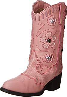 Amazon.com | Durango Lil&39 Dusty Pink N Chrome Western Boot