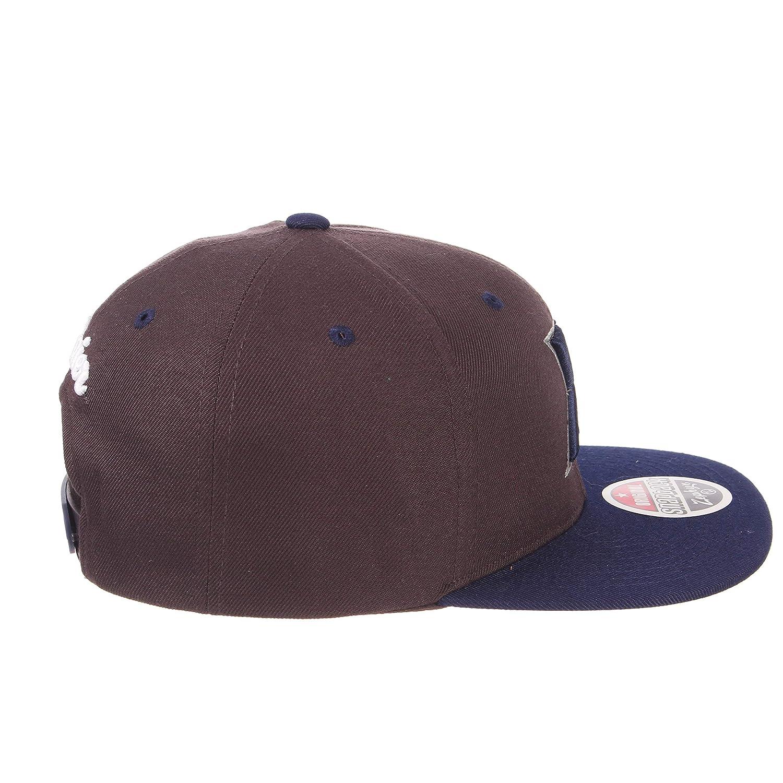 One Size Adjustable Baseball Hat ZHATS Z11 6-Panel Superstar Snapback Cap NCAA Flat Bill