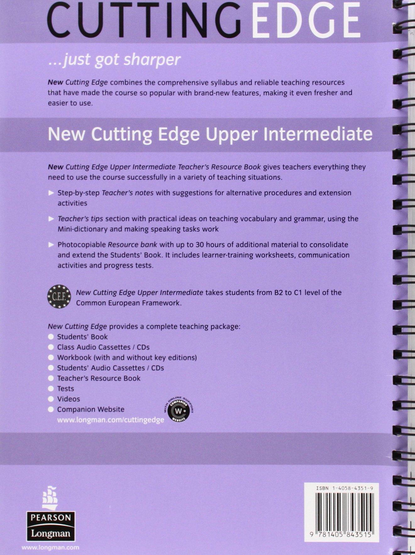 Intermediate pdf cutting new edge upper