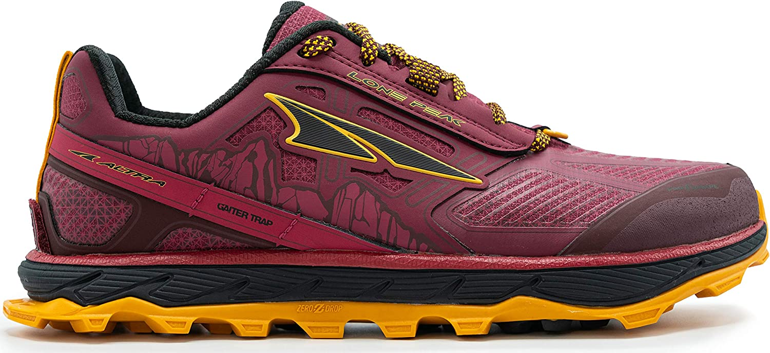 ALTRA Women s ALW1855L Lone Peak 4 Low RSM Waterproof Trail Running Shoe