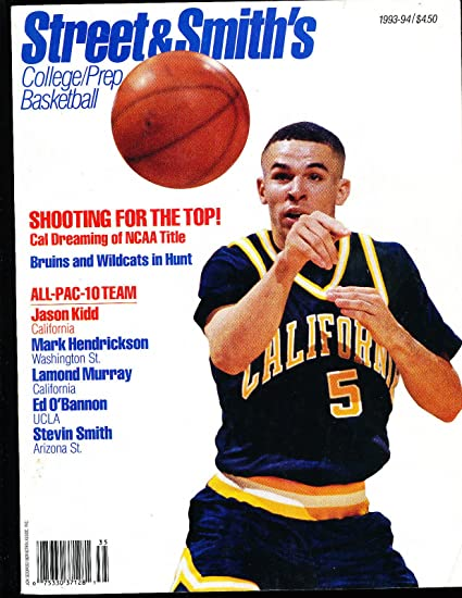 1993 Street Smith College Basketball Yearbook Guide Jason Kidd