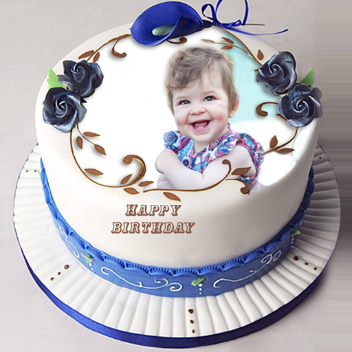 Terrific Amazon Com Birthday Cake With Name And Photo On Cake Appstore Funny Birthday Cards Online Overcheapnameinfo