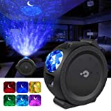 Kids Night Light, Galaxy Projector, 3-1 Star Projector Baby Lights Moon/Star Touch & Musical Rhythm Universe LED Lights…
