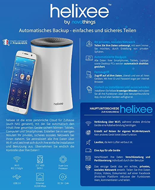 Helixee   Die Erste Persönliche Cloud Mit: Amazon.de: Computer U0026 Zubehör