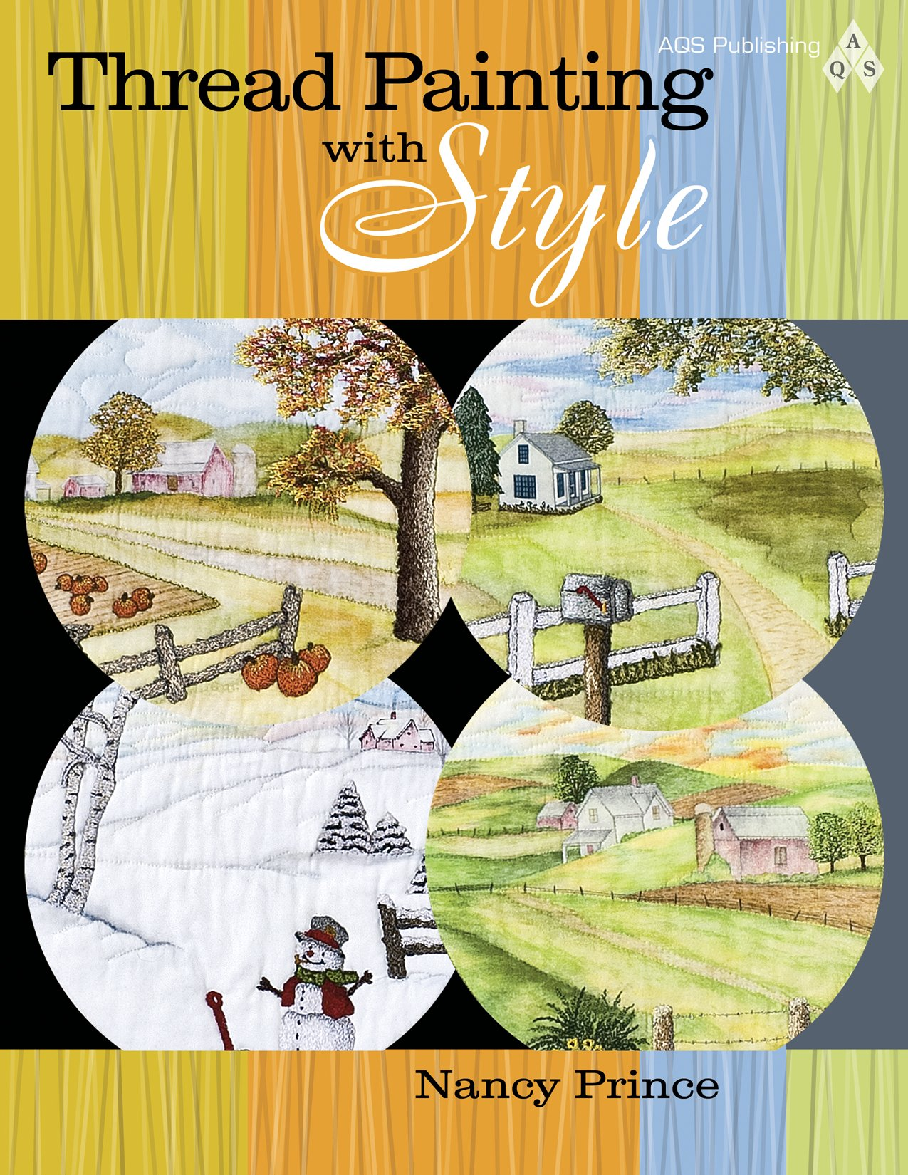 Thread Painting with Style: Amazon.co.uk: Nancy Prince: 9781574326468: Books