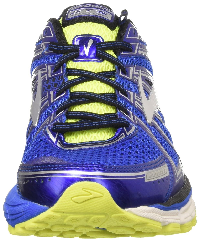 Brooks Adrenaline GTS 17, Zapatillas de Gimnasia para Hombre, Azul (Electric Blue/Black/Nightlife), 44 EU