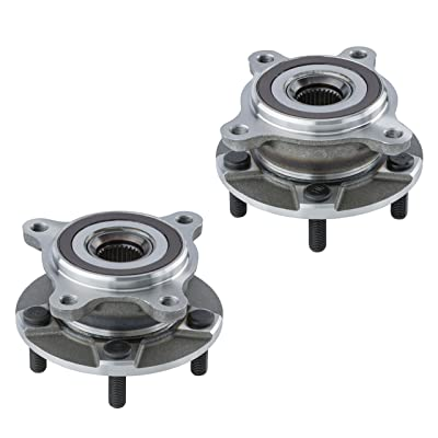 2 DTA Front Wheel Hub Bearing Assemblies NT513365513366 Fits Front Left and Right Lexus GS300 GS350 IS250 IS300 IS350 RC300 RC350 AWD Only: Automotive