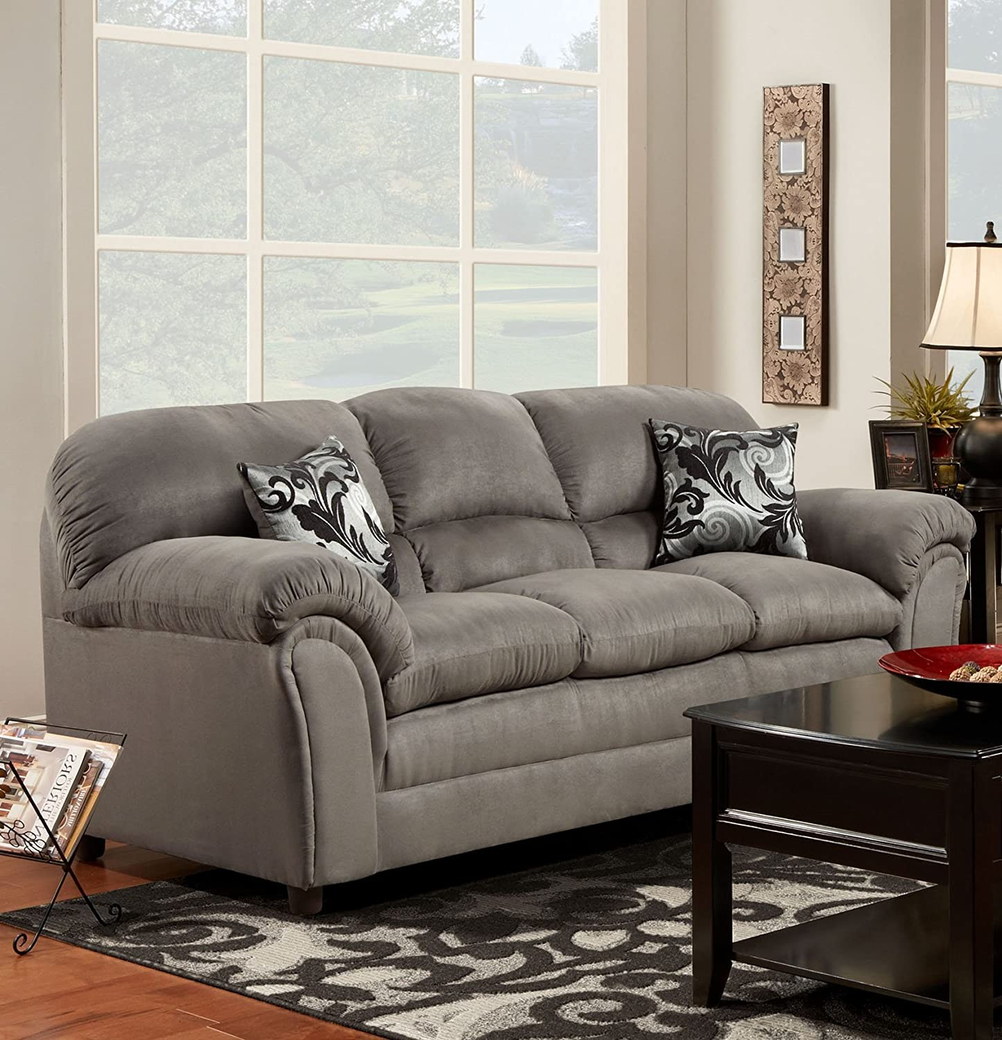 Amazon Chelsea Home Furniture Joyce Sofa Victory Lane
