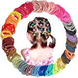 300 Pieces Baby Hair Ties Small Hair Ropes Elastic Rubber Bands for Infants Newborn and Toddlers Bangs