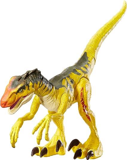 Jurassic World Raptor Blue Toy Figure Dino Rivals Savage Strike Velociraptor